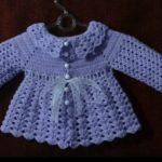 Casaquinho de Bebê Feito de Crochê – Material e Vídeo