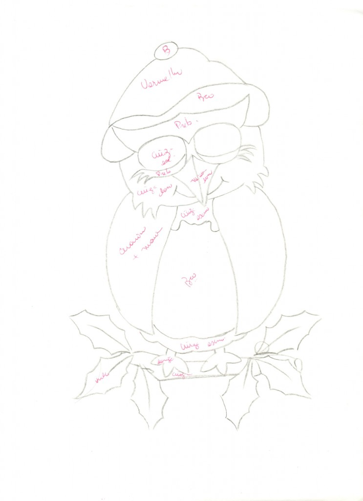 Molde-pintura-tecido-coruja