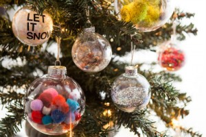 Bolas de Natal Decoradas –  Materiais e Como Fazer
