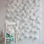 Cortina de Flores de Papel – Como Fazer