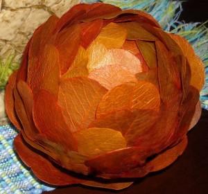Flor Aromatizada Com Folhas – Feito Com Isopor – Vídeo
