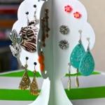 Porta-Bijuterias de Papelão em Forma de Árvore – Material e Como Fazer