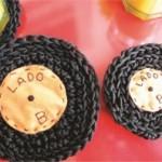 Porta- Copos de Crochê em Forma de Vinil – Como Fazer Passo a Passo