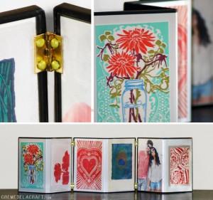 Porta-Retratos de Capa de DVD – Material e Como Fazer