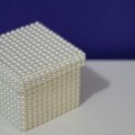 Caixa de Presente Feita em Pérolas – Como Fazer Passo a Passo