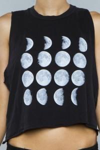 Camiseta Estampada com Fases da Lua – Como Fazer e Vídeo