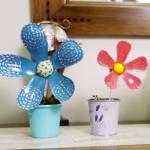 Como Fazer Flores de Garrafa Pet – Vídeo Com Passo a Passo