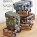 Mini Malas de Viagem Decorativas – Como Fazer