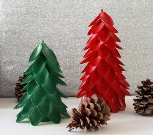 Árvore de Natal Feita de Colher Descartável – Como Fazer