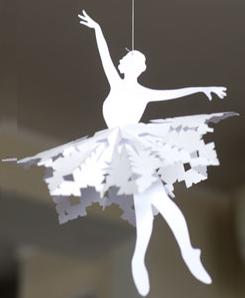 bailarina-natal-papel