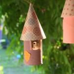 Casinhas de Pássaros de Rolo de Papel Higiênico – Passo a Passo