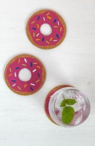Descanso de Copo em Forma de Donuts – Como Fazer Passo a Passo