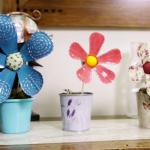 Flor de Garrafa Pet – Materiais e Vídeo