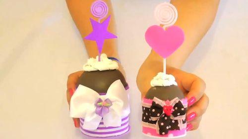 porta-recado-cupcake
