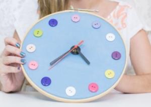 Relógio de Pano – Material e Vídeo