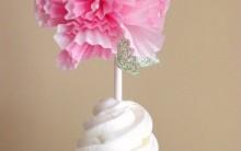 Topo de Cupcake de Forminha – Material e Passo a Passo