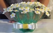 Vaso de Flores Feito de Garrafa Pet – Materiais e Vídeo