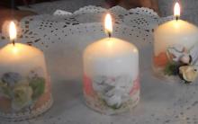 Velas Decorativas Vintage – Materiais e Vídeo