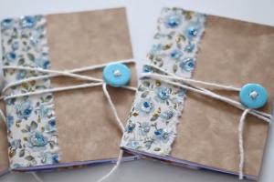 Caderninhos de Anotação Feitos de Caixa de Cereal – Como Fazer