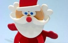 Porta Bombom Noel Feito de Eva – Como Fazer e Molde