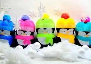 Pingüins de Natal Feito Com Garrafa Pet – Dicas e Como Fazer.