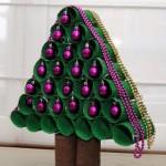 Árvore de Natal Feita de Rolo de Papel Higiênico – Material e Passo a Passo