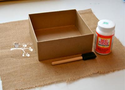 caixa-papelão-decorada-passo 1