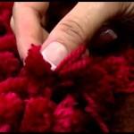 Almofada de Lã Feita Com Tear – Material, Vídeos de Como Fazer