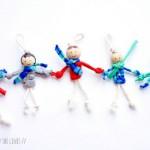 Bonequinho Feito de Macramê – Como Fazer