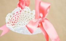 Cestinha de Crochê Enfeitada – Material e Como Fazer