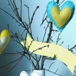 Coração de Feltro Sachê – Material e Passo a Passo