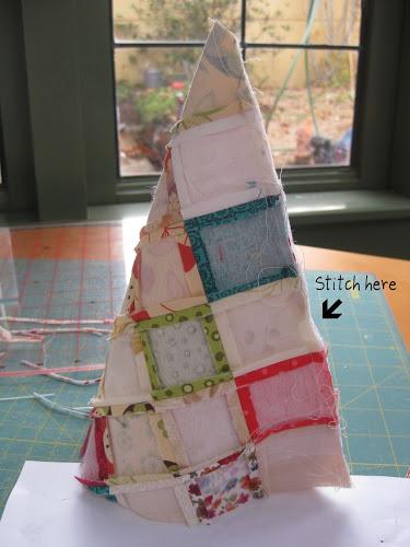 Árvore-de-Natal-de-Patchwork-Passo 4