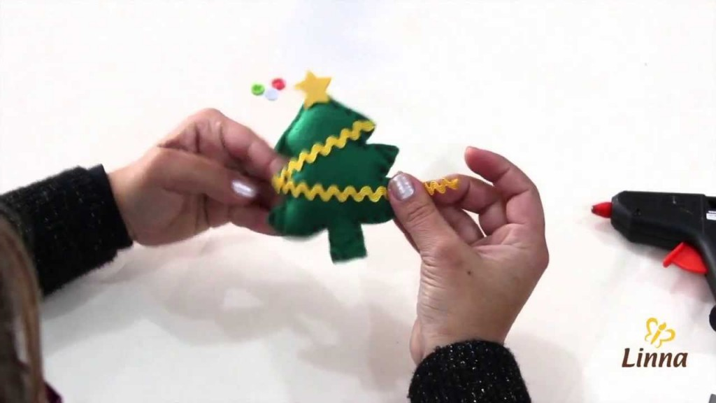 arvore-natal-feita-feltro