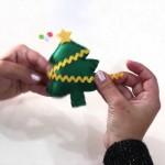 Árvore de Natal Feita de Feltro – Material e Como Fazer