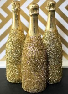 Garrafas de Champagne Decorada – Como Enfeitar Passo a Passo