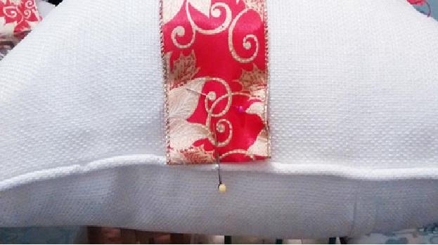 Almofadas Customizadas Para o Natal dobre