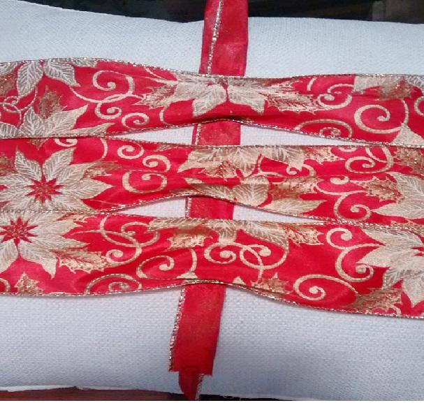 Almofadas Customizadas Para o Natal franzido