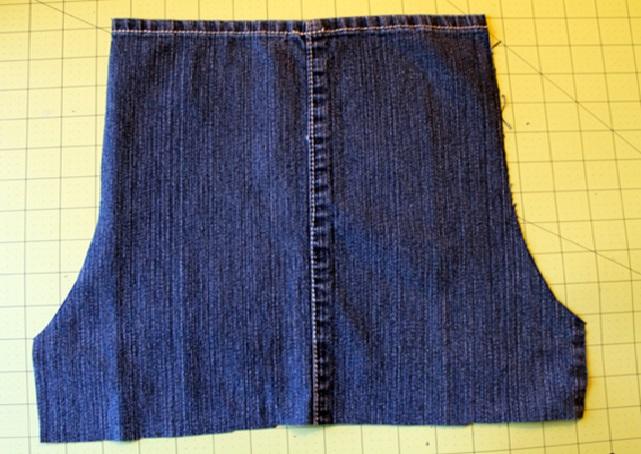 Avental de Jeans  curva