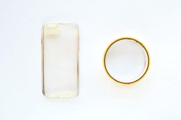 Capa de celular transparente Customizado