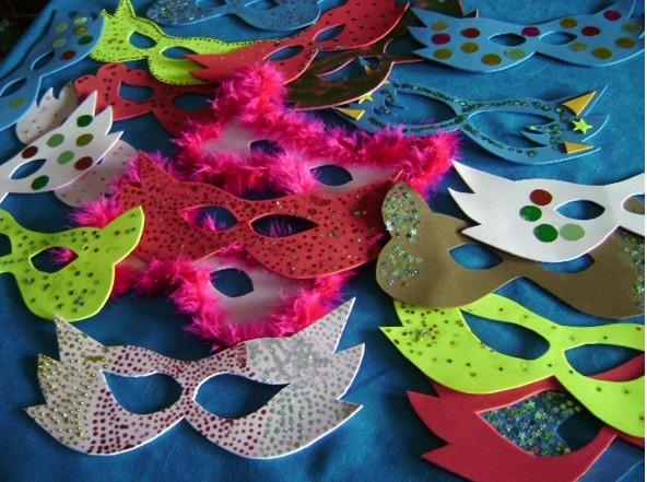 Moldes de Máscaras para Carnaval modelos