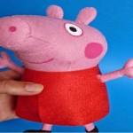 Peppa Pig de Feltro a Porquinha – Passo a Passo