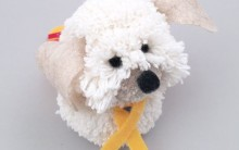 Cachorro Pom Pom de Lã – Material e Passo a Passo