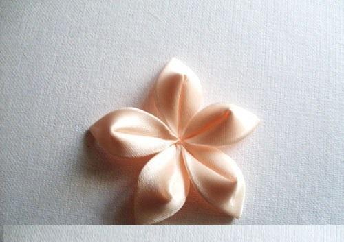 Flor de Cetim Para Elástico flor