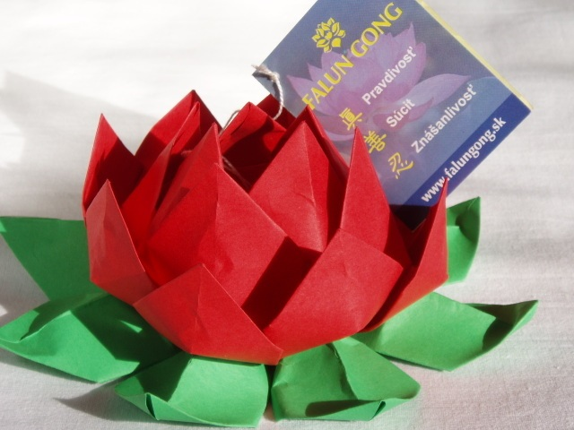 Flor de lotus feita de origami como fazer bigtudo for How to make a lotus with paper