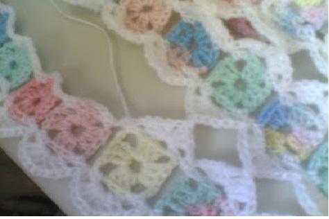Manta Bebê Mile a Minute  Crochê - Como Fazer