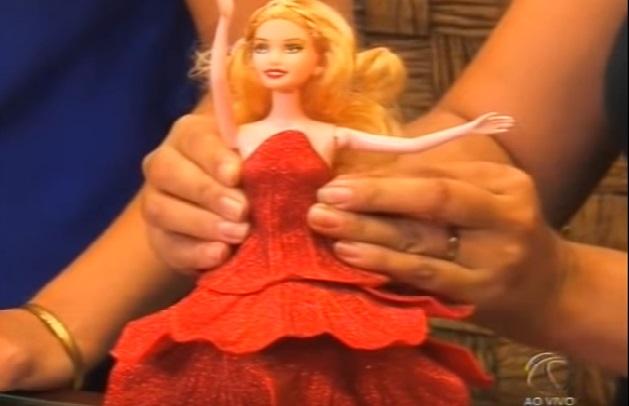 Vestido Para Barbie Feito de EVA - Como Fazer