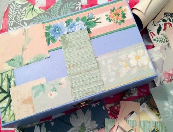 Caixa de Joias Decorada  Material  Passo a Passo