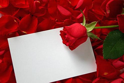 Envelope de Coração Feito de Cartolina