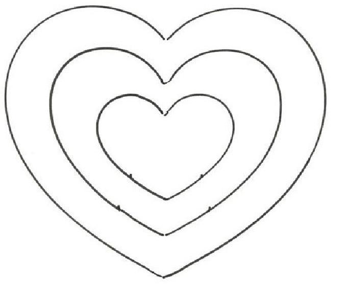Morango de Papel em Formato de Coração - Passo a Passo