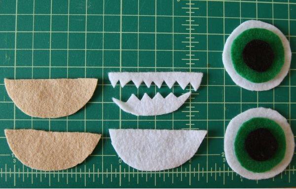 Pantufa  Divertida Para Criança Tecidos detalhes